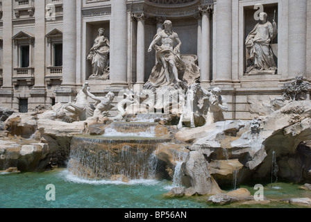 Trevi Fountain, Rome, Italy - Stock Image