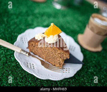 Coffee and Cake - Stock Image