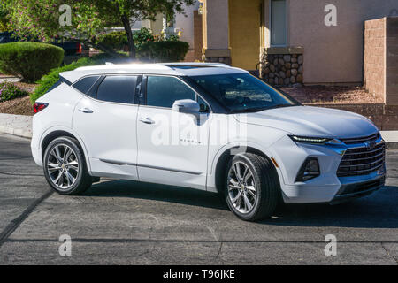 A 2019 Chevy Blazer made in Mexico - Stock Image