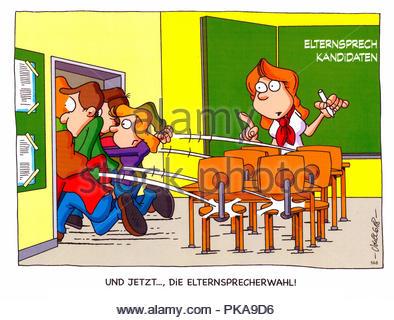 parental talk 2 - Stock Image