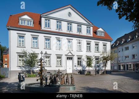 Deutschland, Nordrhein-Westfalen, Werl, Amtsgericht - Stock Image