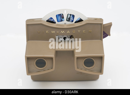 VIEW-MASTER with reel - Stock Image