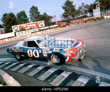 1976 Marcel Mignot French Ford Torino Le Mans 24 Hours dnf - Stock Image