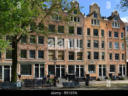 Wittenburgergracht (Wittenburg is one of the three Eastern Islands in Amsterdam that were pumped into the IJ, 17th century,) The Netherlands. Dutch. - Stock Image