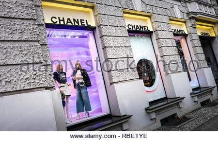 Chanel store - Stock Image