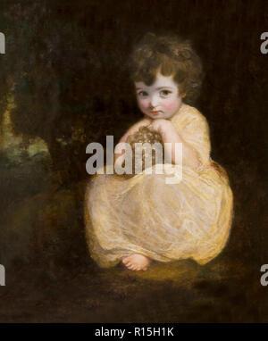 Lady Gertrude Fitzpatrick, Sir Joshua Reynolds, 1777-1778, Lady Lever Art Gallery, Port Sunlight, Liverpool, England, UK, Europe - Stock Image