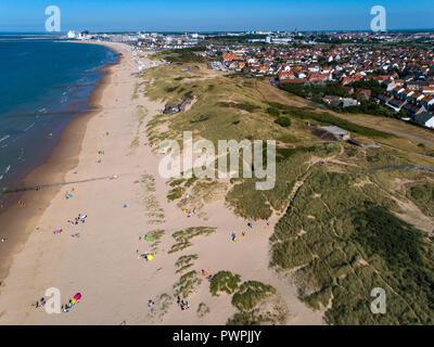 France, Hauts de France, Pas de Calais, aerial pic - Stock Image