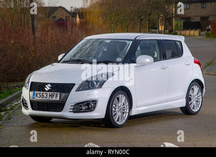 2014 Suzuki Swift Sport hot hatch compact car - Stock Image