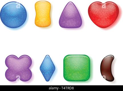 picture of candys - Stock Image