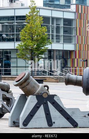 The Royal Armouries National Museum of Arms and Armour in Leeds West Yorkshire England - Stock Image