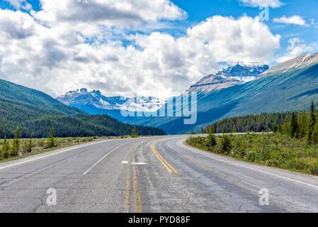 Icefield Parkway, Jasper National Park, Alberta, Canada - Stock Image