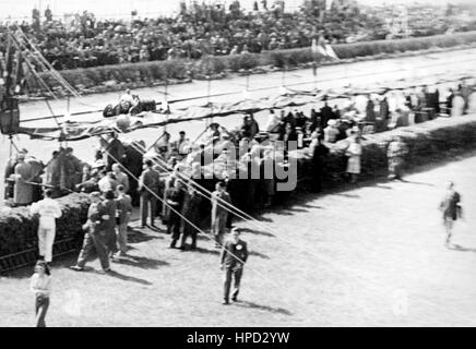1948 Pits Jersey Road Race - Stock Image