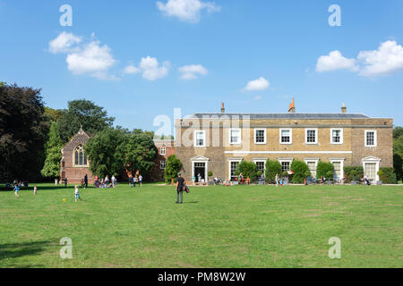 Fulham Palace, Fulham, London Borough of Hammersmith and Fulham, Greater London, England, United Kingdom - Stock Image