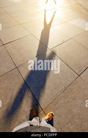 shadow,shadow - Stock Image