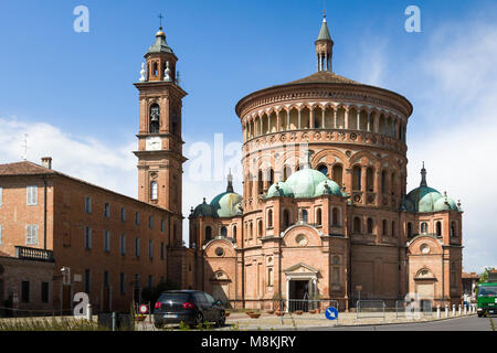 Il Santuario di Santa Maria della Croce / Sanctuary of Our Lady of the Cross, fuori / outside Crema, Italy, a Pilgrimage - Stock Image