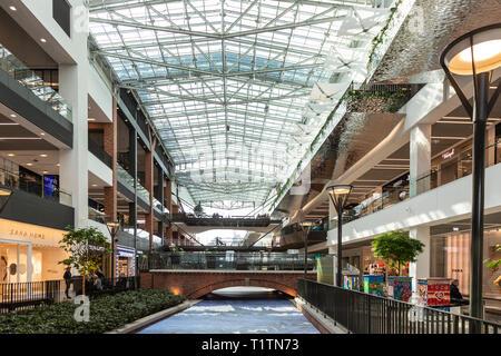 Forum Gdańsk shopping centre, Poland - Stock Image