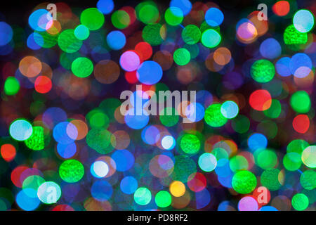 Abstract, out of focus light points. - Stock Image