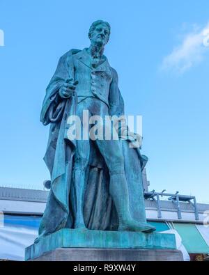 Statue of John Henry Manners, 5th Duke of Rutland. - Stock Image