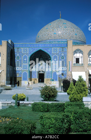 Iran Esfahan Emam Mosque from Emam Khomeine Square - Stock Image