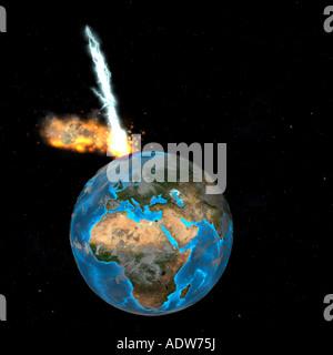 meteor - Stock Image