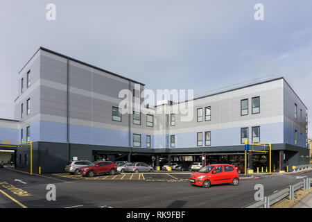 The new Nye Bevan Unit at Northampton General Hospital; opened in September 2018 with a view to reducing waiting times, Northampton, UK - Stock Image