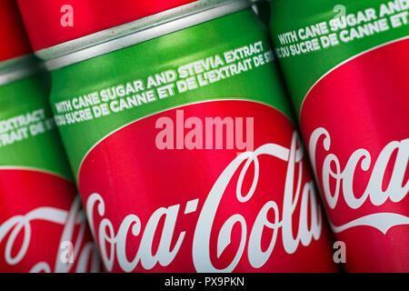 Coca Cola Stevia - Stock Image