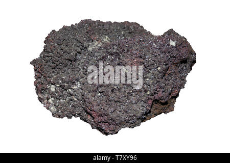Cuprite (Cuprous oxide) - Redruth, Cornwall - Stock Image