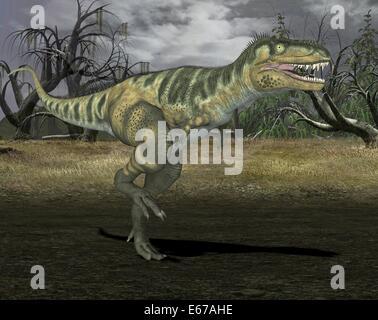 Dinosaurier Bistahieversor / dinosaur Bistahieversor - Stock Image