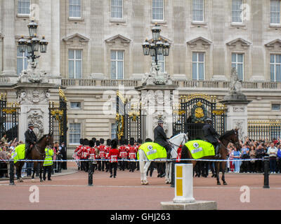 Change of the Guards, London, England - Stock Image