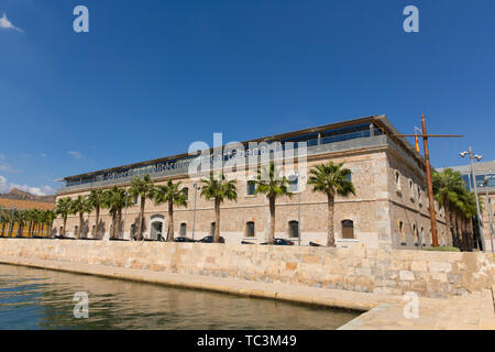 Cartagena Murcia Spain view in the port area - Stock Image