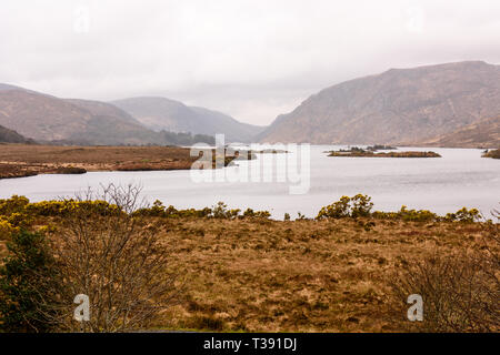 Lough Beagh, County Donegal, Ireland - Stock Image