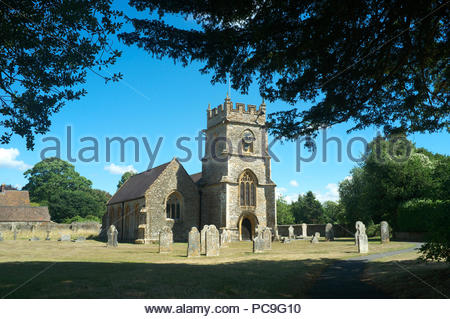 St.Peter's Church in the village of Chetnole, in Dorset, UK. - Stock Image
