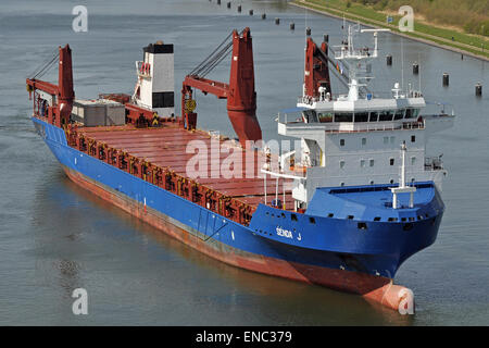 General Cargo Ship Senda J - Stock Image