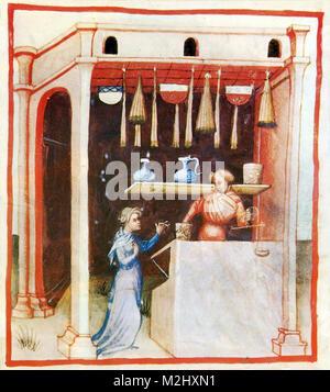 'Tacuinum Sanitatis', Sugar - Stock Image