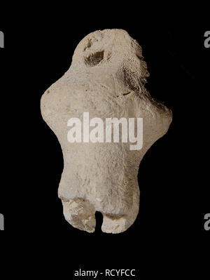 6417. Clay pomegranate (perhaps a decoration of the priest's gown), dating from the First Temple, c. 10th. C.BC. fount in excavations at Shiloh. - Stock Image