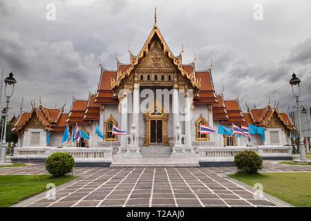 Wat Benchamabophit in Bangkok, Thailand. - Stock Image