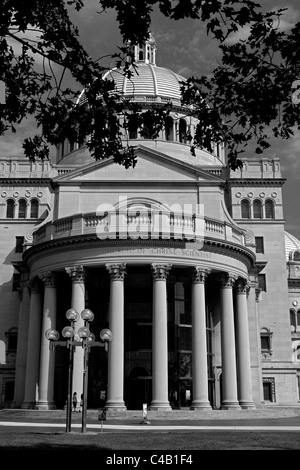 USA, Massachusetts, Boston.  Main to entrance The Mother Church, The First Church of Christ, - Stock Image