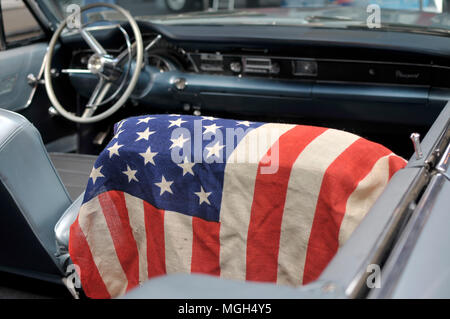 1960 Chrysler detail pictures - Stock Image