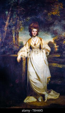 Sir Joshua Reynolds, Lady Elizabeth Compton, portrait painting, c.1780 - Stock Image