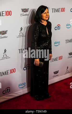 Barbara Rae-Venter attends TIME 100 GALA on April 23 in New York City - Stock Image