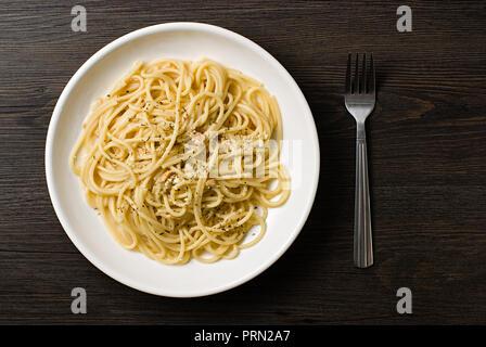 Food Spaghetti - Stock Image