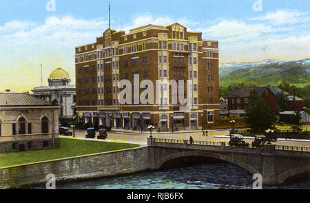 Reno, Nevada, USA - New Riverside Hotel - Stock Image