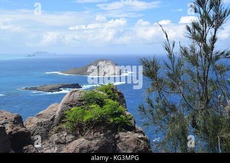 Makapu'u Point - Oahu, Hawaii - Stock Image