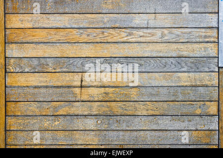 Wooden panels as a textured background - Stock Image