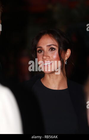 Prince Harry The Duke of Sussex with Meghan Markle the Duchess of Sussex on Day 5  of their tour of Australia , the couple attended a reception before the opening ceremony of the 2018 Invictus Games The event is being held at the Opera House's famous Bennelong Restaurant with Olympic swimmer Ian Thorpe OAM (Order of Australia) as Master of Ceremonies. on October 20, 2018 in Sydney, Australia. - Stock Image