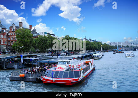 LONDON, UK - September 16, 2016: London is the capital and largest city of England and United Kingdom. London is the most visited city in the world an - Stock Image