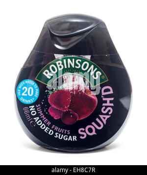 Squash'd Robinsons - Stock Image