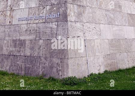 museum kunst palast art düsseldorf germany deutschland building architrecture travel toruism culture - Stock Image