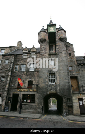 A general view of the Canongate Tolbooth on the Royal Mile  in Edinburgh - Stock Image
