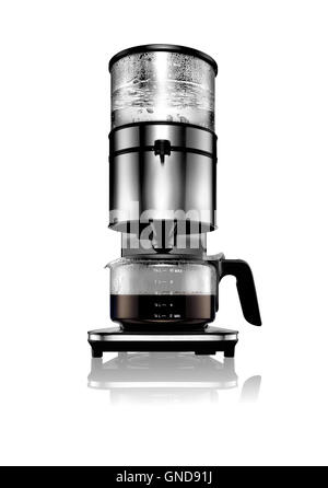 A cut out shot of a filter coffee machine - Stock Image